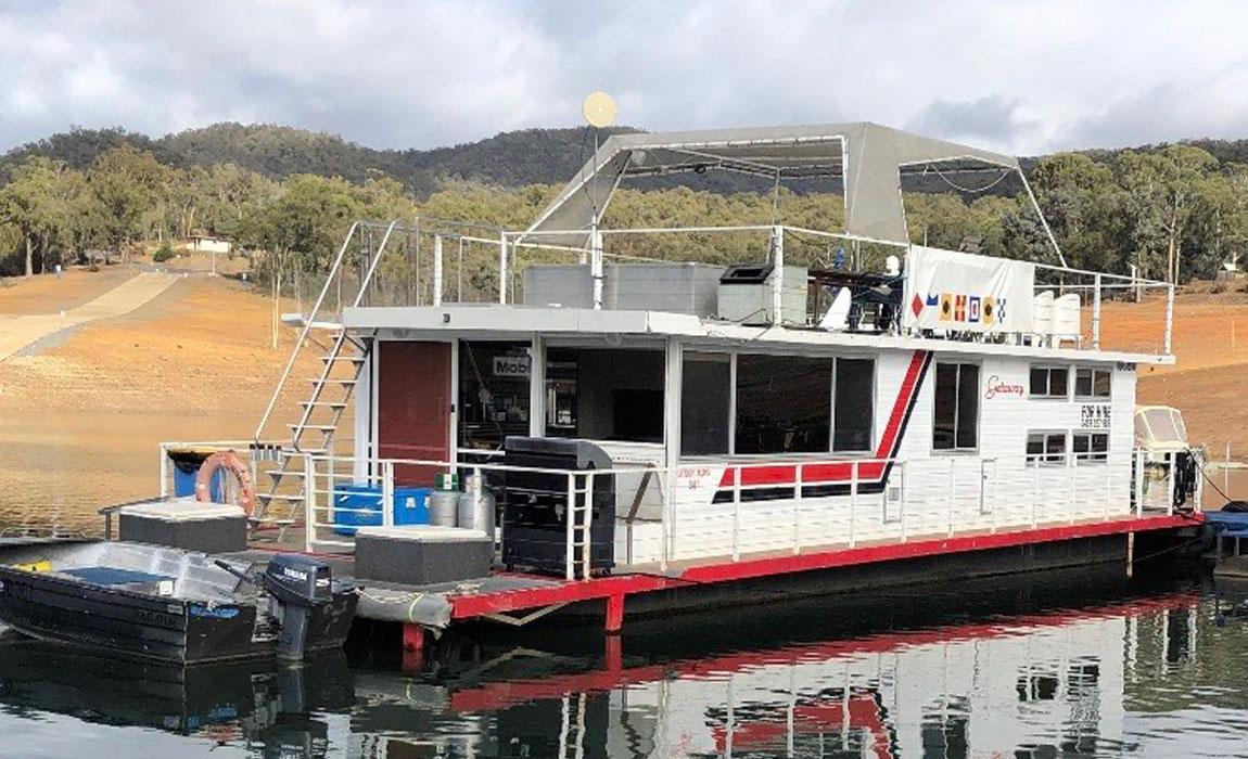 lake eildon houseboats - getaway